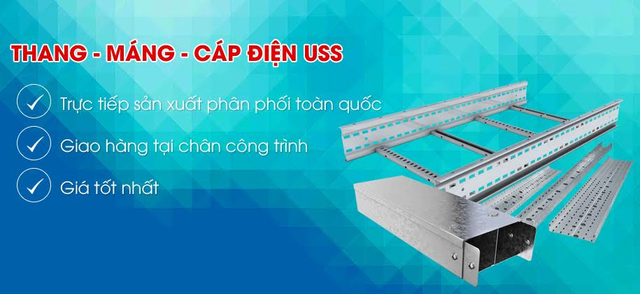 Thang  Máng Cáp Điện (Cable Ladder, Trunking )